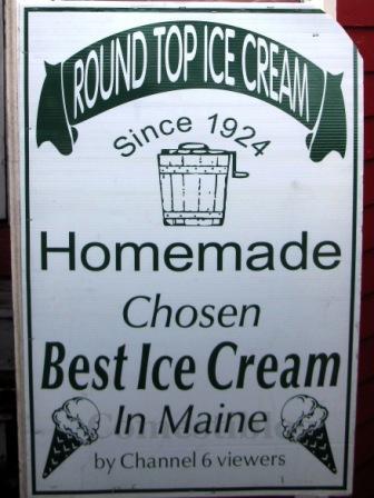Ice cream sign sm