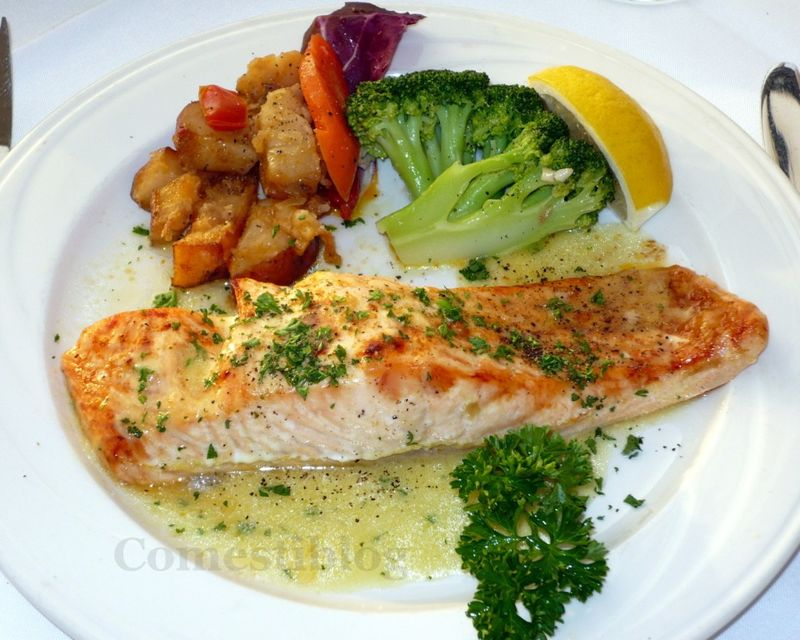 Broiled Salmon Dijon