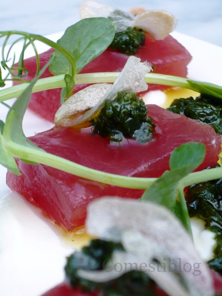 Yellowfin Tuna Crudo