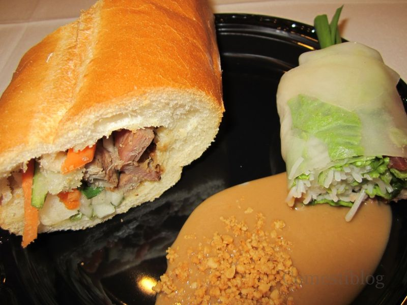 Bánh Mì and Summer Roll