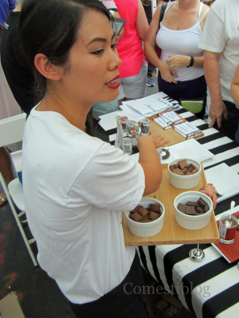 Chocolate samples