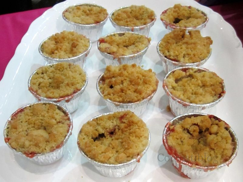 Rudy's Strawberry-Rhubarb Crisp