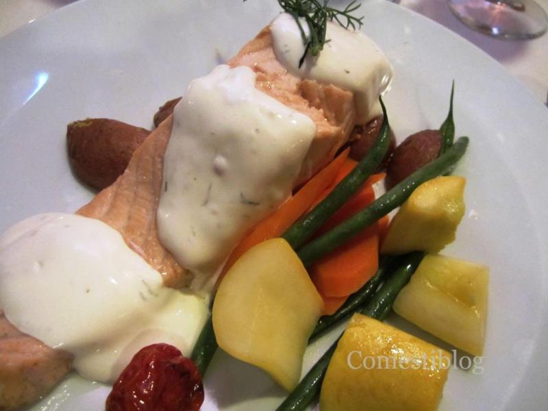 Poached Atlantic Salmon