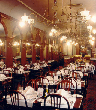 Gage & Tollner Dining Room