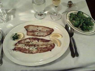 Grey Sole and Broccoli